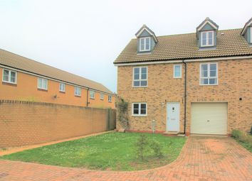 Thumbnail 3 bed end terrace house for sale in Rhode Island Drive, Exeter