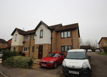 Thumbnail 4 bed semi-detached house for sale in Chatsworth Drive, Wellingborough, Northamptonshire.