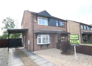 Thumbnail 2 bed semi-detached house to rent in Heron Way, Balderton, Newark, Nottinghamshire.