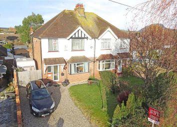 Thumbnail 3 bed semi-detached house for sale in North Lane, East Preston, Littlehampton