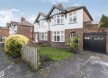 Thumbnail 3 bed semi-detached house for sale in Dane Bank Road, Northwich