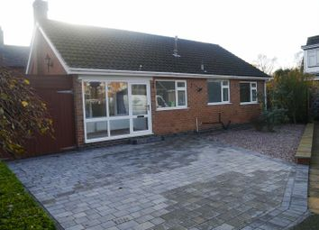 Thumbnail 2 bed detached bungalow to rent in Mcneil Grove, Draycott, Derby