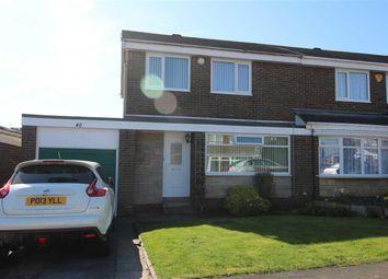 Thumbnail 3 bed semi-detached house for sale in Northolt Avenue, Parkside Chase, Cramlington