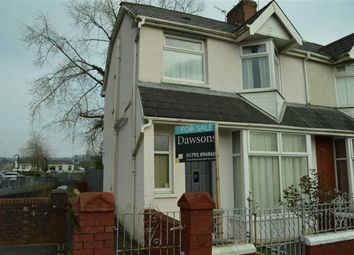 Thumbnail 3 bedroom end terrace house for sale in St Michael's Avenue, Swansea