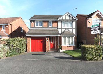 Thumbnail 4 bed detached house for sale in Saxon Way, Shevington Park, Kirkby