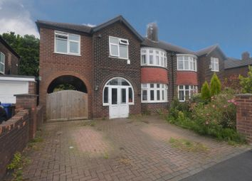 Thumbnail 5 bed semi-detached house for sale in Buckingham Road, Heaton Moor, Stockport