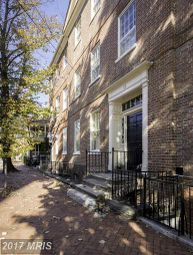 Thumbnail 5 bed town house for sale in 112 Duke Of Gloucester Street, Annapolis, MD, 21401