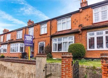 Thumbnail 3 bed terraced house for sale in Cross Lane East, Gravesend, Kent