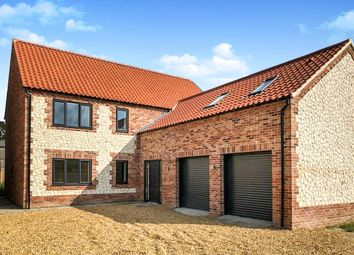 Thumbnail 4 bed detached house for sale in Jubilee Hall Lane, Gayton, King's Lynn