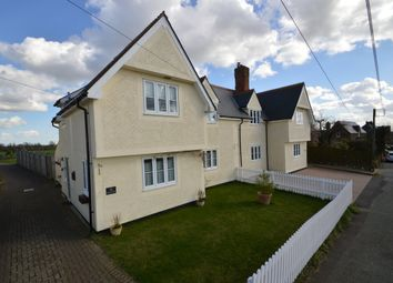 Thumbnail 3 bed semi-detached house for sale in The Causeway, Toppesfield, Halstead