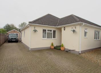 Thumbnail 4 bedroom detached bungalow for sale in Newton Street, Newton St. Faith, Norwich