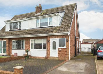 Thumbnail 3 bed semi-detached bungalow for sale in Common Lane, Hambleton, Selby