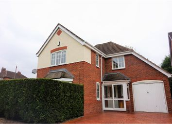 Thumbnail 4 bed detached house for sale in Silvertrees Road, Tipton