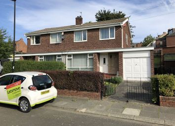 Thumbnail 3 bed semi-detached house to rent in Bamburgh Drive, Wallsend