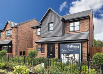 Thumbnail 4 bed detached house for sale in Off Crompton Way, Lowton