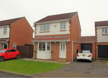 Thumbnail 3 bed detached house for sale in Bransdale Avenue, Northallerton