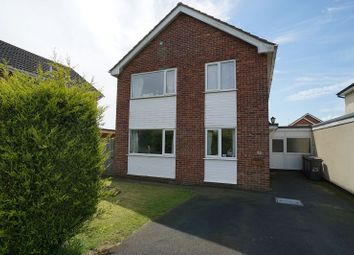 Thumbnail 4 bed detached house for sale in Cliffe Avenue, Ruskington, Sleaford