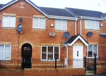 Thumbnail 3 bed town house to rent in Gravenmoor Drive, Cheetwood, Manchester