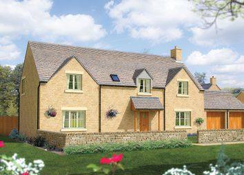 "Thumbnail 5 bed detached house for sale in ""The Trewsbury"" at Kemble, Gloucestershire, Kemble"