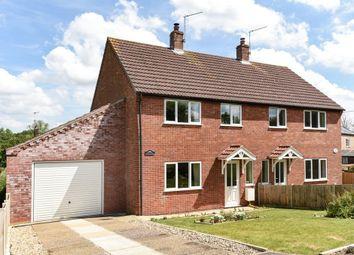 Thumbnail 3 bed semi-detached house for sale in Little London, Corpusty, Norwich
