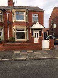 Thumbnail 3 bedroom semi-detached house to rent in Kingston Avenue, Blackpool