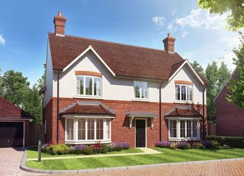 "Thumbnail 5 bed detached house for sale in ""Woodpecker House"" at Dollicott, Haddenham, Aylesbury"