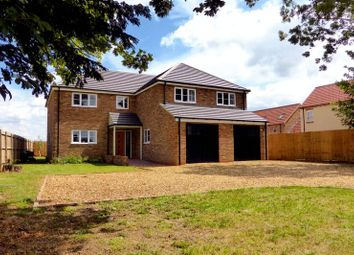 Thumbnail 5 bedroom detached house for sale in Murrow Bank, Murrow, Cambridgeshire