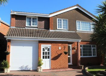 Thumbnail 5 bed detached house for sale in Wigmore Gardens, Worle, Weston-Super-Mare