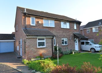 Thumbnail 3 bed semi-detached house for sale in Carisbrooke Court, New Milton