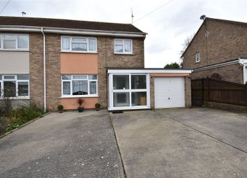 Thumbnail 3 bedroom semi-detached house for sale in Clayton Road, Ramsey, Harwich, Essex