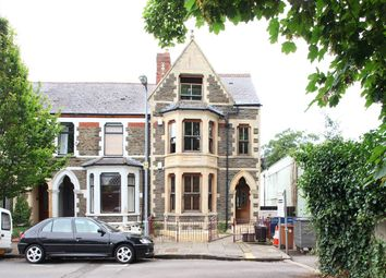 Thumbnail 3 bedroom flat to rent in Ryder Street, Cardiff