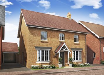 "Thumbnail 4 bed detached house for sale in ""Bradgate"" at Alwin Court, Great Denham, Bedford"