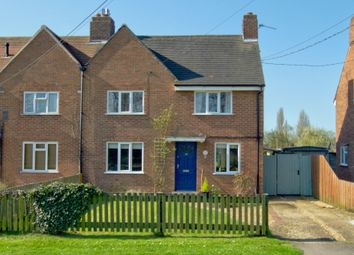 Thumbnail 4 bed semi-detached house for sale in High Street, Hauxton, Cambridge