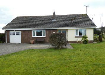 Thumbnail 3 bed detached bungalow for sale in Ffostrasol, Llandysul