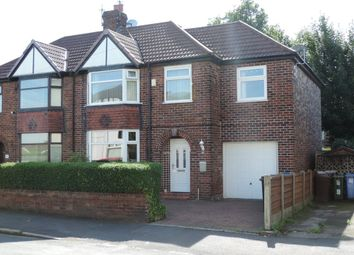 Thumbnail 4 bed semi-detached house for sale in 95 Town Lane, Denton, Manchester
