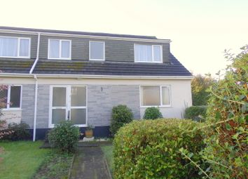 Thumbnail 5 bed semi-detached house for sale in Longfield Close, Callington