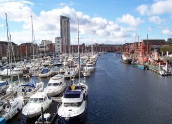 Thumbnail 2 bed flat to rent in Abernethy Quay, Marina, Swansea