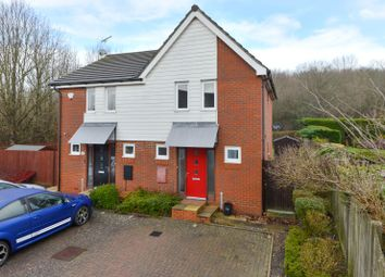 Thumbnail 3 bed semi-detached house for sale in Merlin Way, Ashford