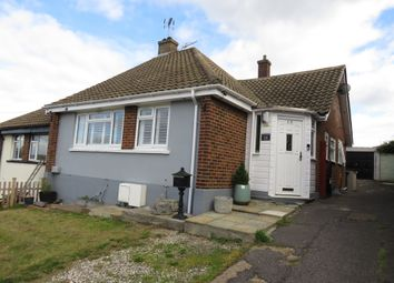 Thumbnail 2 bed semi-detached bungalow for sale in Broadlands Avenue, Rayleigh