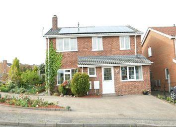 Thumbnail 4 bed detached house for sale in Kings Meadow, Rainworth, Mansfield