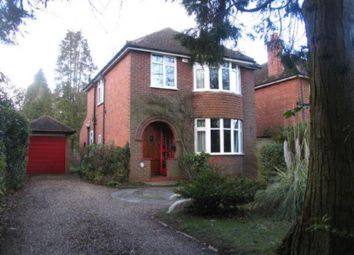 Thumbnail 3 bed detached house to rent in Wellington Road, Sandhurst, Berkshire