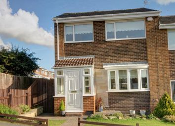 Thumbnail 3 bedroom semi-detached house for sale in Elm Grove, Broompark Estate, Ushaw Moor