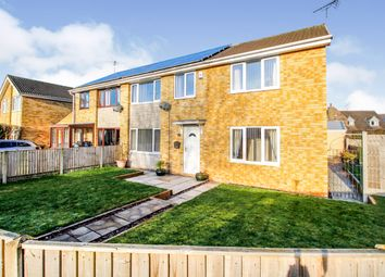 Thumbnail 4 bed semi-detached house for sale in Grampian Way, Thorne, Doncaster