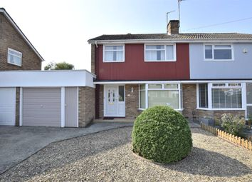 Thumbnail 3 bed semi-detached house for sale in Cornwallis Close, Oxford, Oxfordshire
