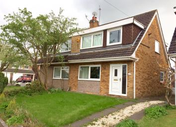 Thumbnail 3 bed semi-detached house for sale in Chelford Close, Altrincham