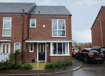 Thumbnail 2 bed semi-detached house for sale in Vickers Close, Newcastle-Under-Lyme