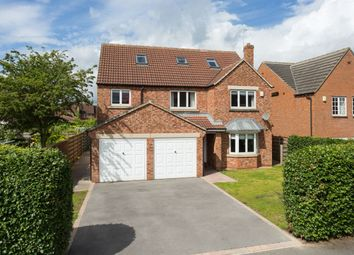 Thumbnail 6 bed detached house for sale in Woburn Close, Strensall, York
