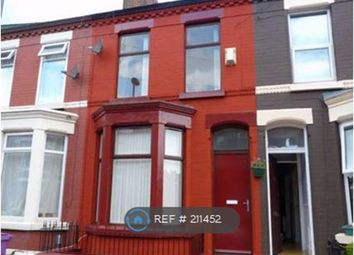 Thumbnail 4 bed terraced house to rent in Thornycroft Road, Liverpool