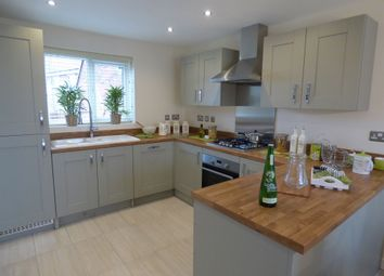 "Thumbnail 3 bedroom detached house for sale in ""The Clayton"" at Riber Drive, Chellaston, Derby"