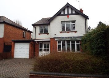Thumbnail 4 bed detached house to rent in Church Road, Bradmore, Wolverhampton